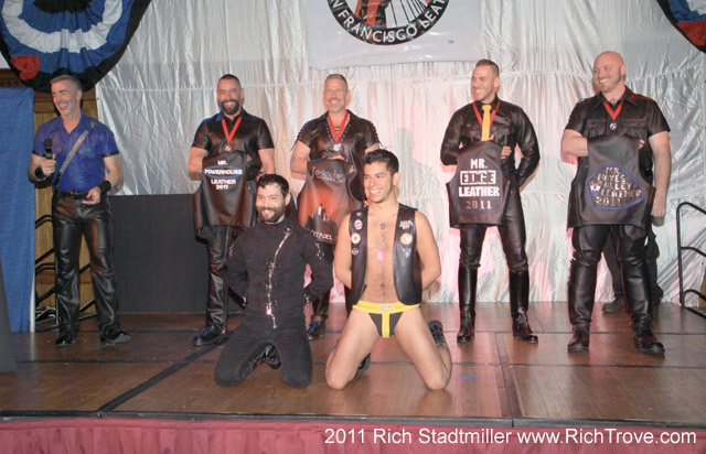 Backstage at Mr. SF Leather (2/4)