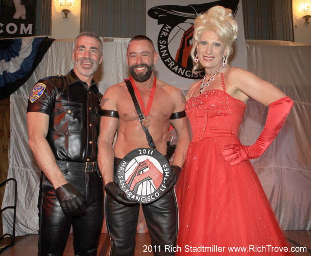 Backstage at Mr. SF Leather (1/4)