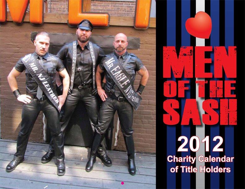 MEN OF THE SASH: 2012 Charity Calendar of Titleholders